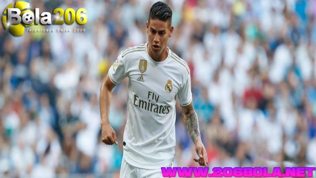 James Rodriguez Menambah Daftar Cedera Madrid