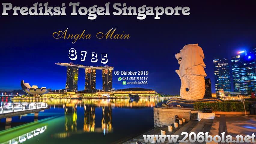 Prediksi Togel Singapore Pools Tanggal 09 Oktober 2019